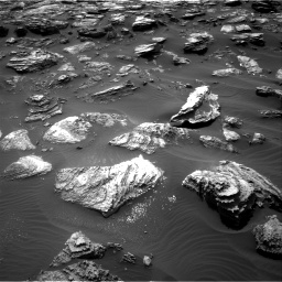 Nasa's Mars rover Curiosity acquired this image using its Right Navigation Camera on Sol 1501, at drive 2682, site number 58