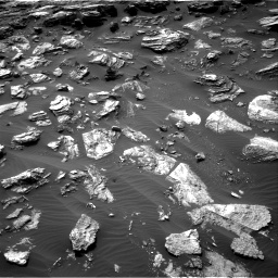 Nasa's Mars rover Curiosity acquired this image using its Right Navigation Camera on Sol 1501, at drive 2700, site number 58