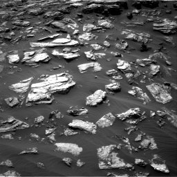 Nasa's Mars rover Curiosity acquired this image using its Right Navigation Camera on Sol 1501, at drive 2712, site number 58