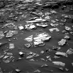 Nasa's Mars rover Curiosity acquired this image using its Right Navigation Camera on Sol 1501, at drive 2724, site number 58