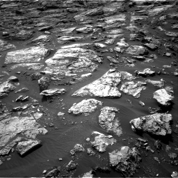 Nasa's Mars rover Curiosity acquired this image using its Right Navigation Camera on Sol 1501, at drive 2754, site number 58