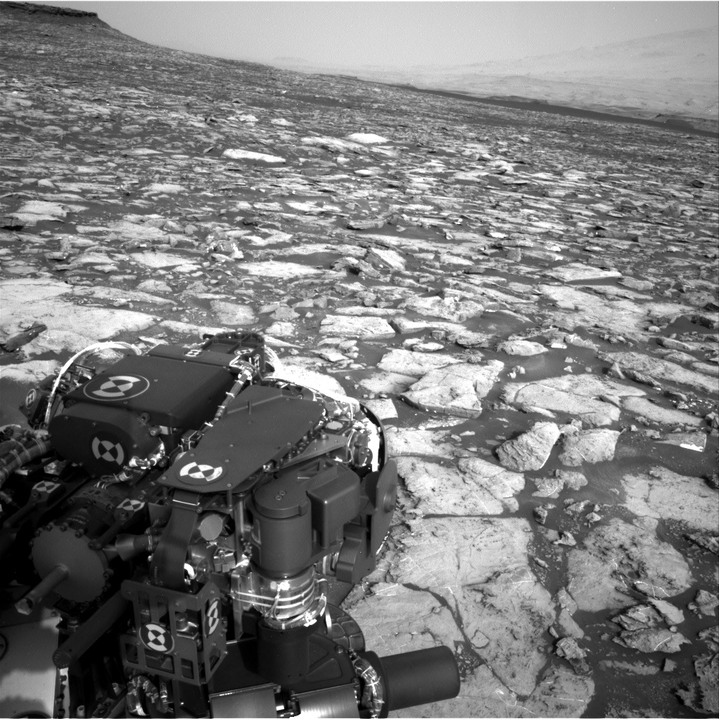 Nasa's Mars rover Curiosity acquired this image using its Right Navigation Camera on Sol 1501, at drive 2760, site number 58