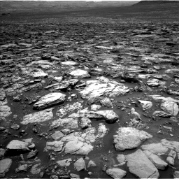 Nasa's Mars rover Curiosity acquired this image using its Left Navigation Camera on Sol 1502, at drive 2772, site number 58