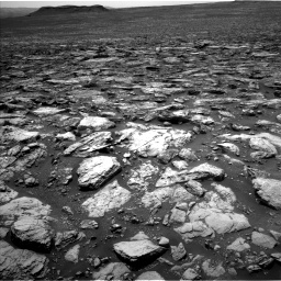 Nasa's Mars rover Curiosity acquired this image using its Left Navigation Camera on Sol 1502, at drive 2784, site number 58