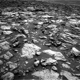 Nasa's Mars rover Curiosity acquired this image using its Left Navigation Camera on Sol 1502, at drive 2826, site number 58