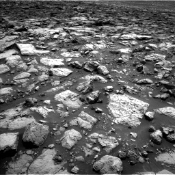 Nasa's Mars rover Curiosity acquired this image using its Left Navigation Camera on Sol 1502, at drive 2832, site number 58