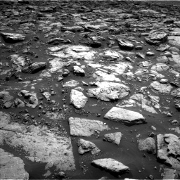 Nasa's Mars rover Curiosity acquired this image using its Left Navigation Camera on Sol 1502, at drive 2874, site number 58