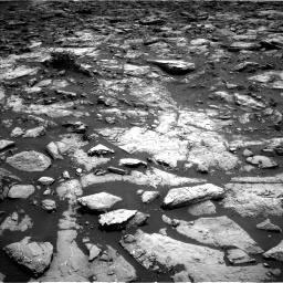 Nasa's Mars rover Curiosity acquired this image using its Left Navigation Camera on Sol 1502, at drive 2904, site number 58