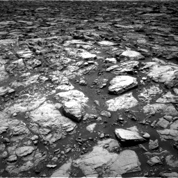 Nasa's Mars rover Curiosity acquired this image using its Right Navigation Camera on Sol 1502, at drive 2790, site number 58