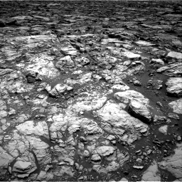 Nasa's Mars rover Curiosity acquired this image using its Right Navigation Camera on Sol 1502, at drive 2796, site number 58