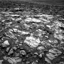 Nasa's Mars rover Curiosity acquired this image using its Right Navigation Camera on Sol 1502, at drive 2814, site number 58
