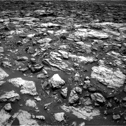 Nasa's Mars rover Curiosity acquired this image using its Right Navigation Camera on Sol 1502, at drive 2820, site number 58