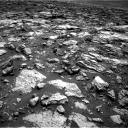 Nasa's Mars rover Curiosity acquired this image using its Right Navigation Camera on Sol 1502, at drive 2826, site number 58
