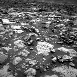 Nasa's Mars rover Curiosity acquired this image using its Right Navigation Camera on Sol 1502, at drive 2832, site number 58