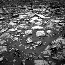 Nasa's Mars rover Curiosity acquired this image using its Right Navigation Camera on Sol 1502, at drive 2850, site number 58