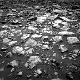 Nasa's Mars rover Curiosity acquired this image using its Right Navigation Camera on Sol 1502, at drive 2856, site number 58