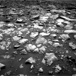 Nasa's Mars rover Curiosity acquired this image using its Right Navigation Camera on Sol 1502, at drive 2862, site number 58