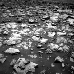 Nasa's Mars rover Curiosity acquired this image using its Right Navigation Camera on Sol 1502, at drive 2868, site number 58