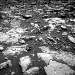 Nasa's Mars rover Curiosity acquired this image using its Right Navigation Camera on Sol 1502, at drive 2886, site number 58