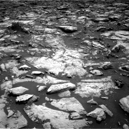 Nasa's Mars rover Curiosity acquired this image using its Right Navigation Camera on Sol 1502, at drive 2898, site number 58