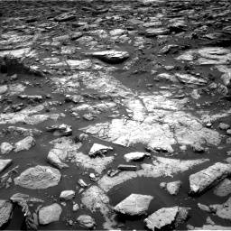 Nasa's Mars rover Curiosity acquired this image using its Right Navigation Camera on Sol 1502, at drive 2922, site number 58