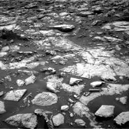 Nasa's Mars rover Curiosity acquired this image using its Right Navigation Camera on Sol 1502, at drive 2928, site number 58