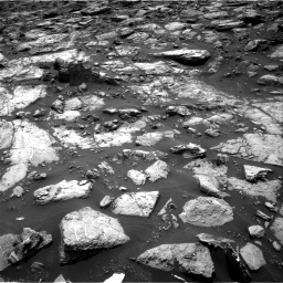 Nasa's Mars rover Curiosity acquired this image using its Right Navigation Camera on Sol 1502, at drive 2934, site number 58