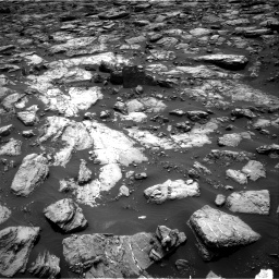 Nasa's Mars rover Curiosity acquired this image using its Right Navigation Camera on Sol 1502, at drive 2940, site number 58