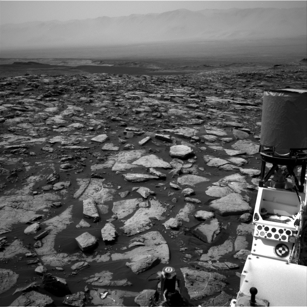 Nasa's Mars rover Curiosity acquired this image using its Right Navigation Camera on Sol 1502, at drive 2946, site number 58