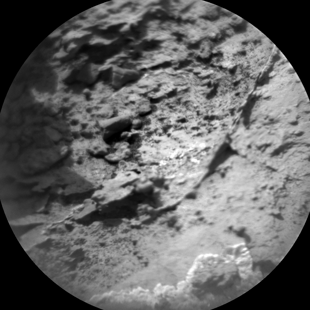 Nasa's Mars rover Curiosity acquired this image using its Chemistry & Camera (ChemCam) on Sol 1502, at drive 2760, site number 58