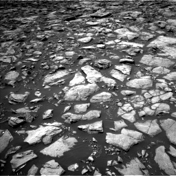 Nasa's Mars rover Curiosity acquired this image using its Left Navigation Camera on Sol 1503, at drive 3000, site number 58