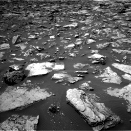 Nasa's Mars rover Curiosity acquired this image using its Left Navigation Camera on Sol 1503, at drive 3036, site number 58