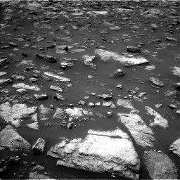 Nasa's Mars rover Curiosity acquired this image using its Left Navigation Camera on Sol 1503, at drive 3072, site number 58