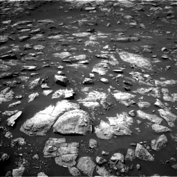 Nasa's Mars rover Curiosity acquired this image using its Left Navigation Camera on Sol 1503, at drive 3114, site number 58