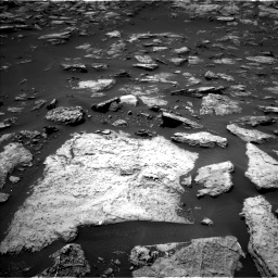 Nasa's Mars rover Curiosity acquired this image using its Left Navigation Camera on Sol 1503, at drive 3138, site number 58