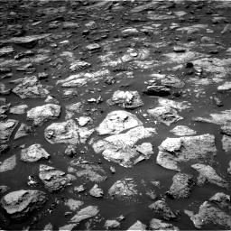 Nasa's Mars rover Curiosity acquired this image using its Left Navigation Camera on Sol 1503, at drive 3228, site number 58