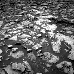 Nasa's Mars rover Curiosity acquired this image using its Right Navigation Camera on Sol 1503, at drive 2952, site number 58