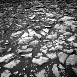 Nasa's Mars rover Curiosity acquired this image using its Right Navigation Camera on Sol 1503, at drive 3000, site number 58