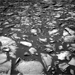 Nasa's Mars rover Curiosity acquired this image using its Right Navigation Camera on Sol 1503, at drive 3012, site number 58