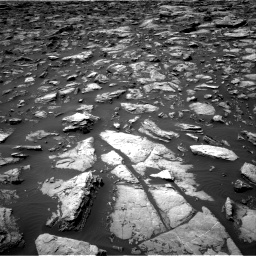 Nasa's Mars rover Curiosity acquired this image using its Right Navigation Camera on Sol 1503, at drive 3024, site number 58
