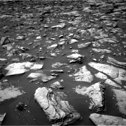 Nasa's Mars rover Curiosity acquired this image using its Right Navigation Camera on Sol 1503, at drive 3030, site number 58