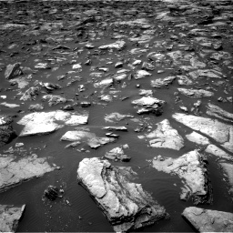 Nasa's Mars rover Curiosity acquired this image using its Right Navigation Camera on Sol 1503, at drive 3036, site number 58