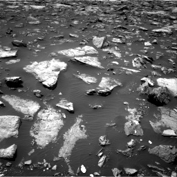 Nasa's Mars rover Curiosity acquired this image using its Right Navigation Camera on Sol 1503, at drive 3054, site number 58