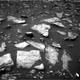 Nasa's Mars rover Curiosity acquired this image using its Right Navigation Camera on Sol 1503, at drive 3060, site number 58