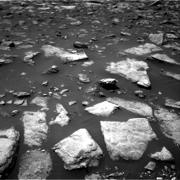 Nasa's Mars rover Curiosity acquired this image using its Right Navigation Camera on Sol 1503, at drive 3066, site number 58
