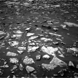 Nasa's Mars rover Curiosity acquired this image using its Right Navigation Camera on Sol 1503, at drive 3084, site number 58