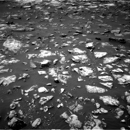 Nasa's Mars rover Curiosity acquired this image using its Right Navigation Camera on Sol 1503, at drive 3096, site number 58