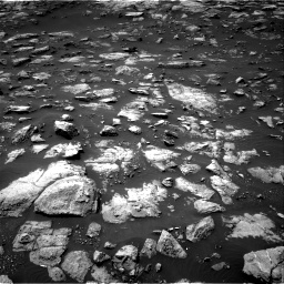 Nasa's Mars rover Curiosity acquired this image using its Right Navigation Camera on Sol 1503, at drive 3114, site number 58