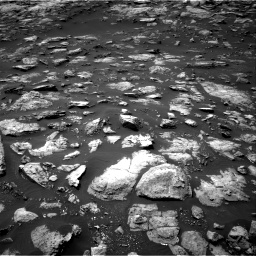 Nasa's Mars rover Curiosity acquired this image using its Right Navigation Camera on Sol 1503, at drive 3120, site number 58