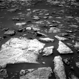 Nasa's Mars rover Curiosity acquired this image using its Right Navigation Camera on Sol 1503, at drive 3138, site number 58